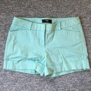 Mossimo Stretch Cotton Shorts (Size 4)